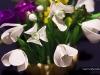 Przebiśniegi - kwiaty z bibuły