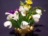 Wiosenne kwiaty - kwiaty z bibuły
