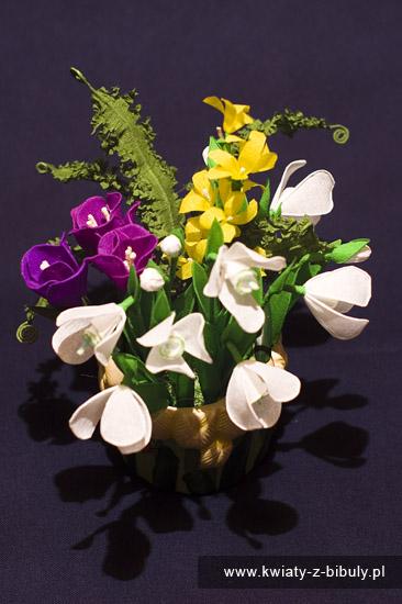 Aktualizacja Galerii Kwiaty Z Bibuły Rękodzieło Bibułkarstwo