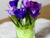 Krokusy - kwiaty z bibuły