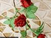 Róża czerwona 1 - kwiaty z bibuły