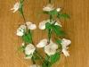 Gałązka z kwiatami wiśni 3 - kwiaty z bibuły
