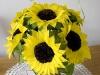 Słoneczniki - kwiaty z bibuły