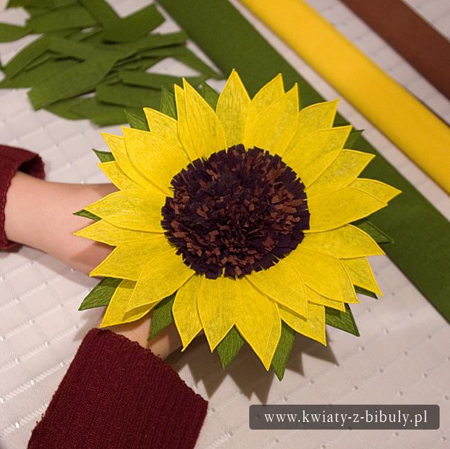 Как сделать подсолнухи своими руками для сада